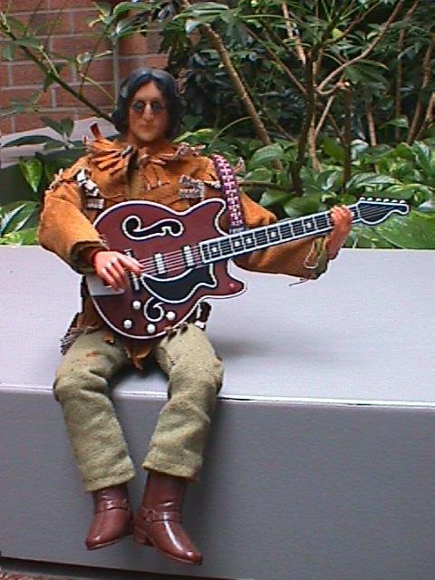 Custom John Lennon Action Figure